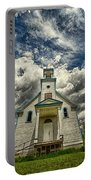 The Squaw Bay Church Portable Battery Charger by Jakub Sisak