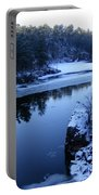 The St. Croix River In December Portable Battery Charger