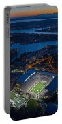 Husky Stadium At Dusk Portable Battery Charger