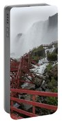 The Stairs To The Cave Of The Winds - Niagara Falls Portable Battery Charger