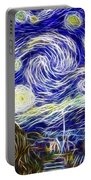 The Starry Night Reimagined Portable Battery Charger