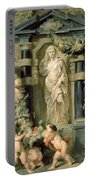 The Statue Of Ceres Portable Battery Charger