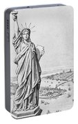The Statue Of Liberty New York Portable Battery Charger