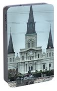 The St.louis Cathedral Portable Battery Charger