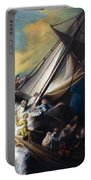 The Storm On The Sea Of Galilee Portable Battery Charger