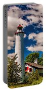 The Sturgeon Point Light Portable Battery Charger