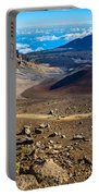 The Summit Of Haleakala Volcano In Maui. Portable Battery Charger