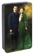 The Sundance Kid Harry Longabaugh And Etta Place 20130515 Portable Battery Charger
