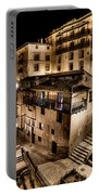 The Tall Houses Of Albarracin Portable Battery Charger