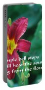 The Temple Bell Portable Battery Charger
