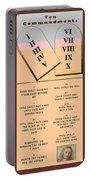 The Ten Commandments Portable Battery Charger