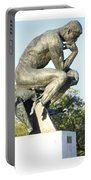 The Thinker Cleveland Art Statue Portable Battery Charger