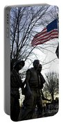 The Three Soldiers - Vietnam War Memorial Portable Battery Charger