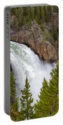 The Thundering Lower Yellowstone Falls Portable Battery Charger