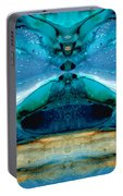 The Time Traveler - Surreal Fantasy Art By Sharon Cummings Portable Battery Charger