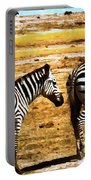 The Tired Zebras Portable Battery Charger