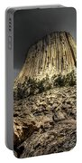 The Tower Of Boulders Portable Battery Charger
