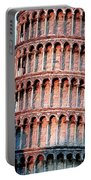 The Tower Of Pisa Portable Battery Charger
