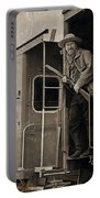 The Train Robber Portable Battery Charger