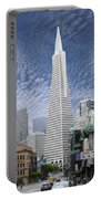 The Transamerica Pyramid - San Francisco Portable Battery Charger