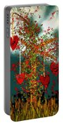 The Tree Of Hearts Portable Battery Charger