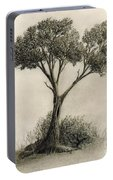 The Tree Quietly Stood Alone Portable Battery Charger