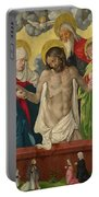 The Trinity And Mystic Pieta Portable Battery Charger