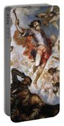 The Triumph Of Saint Hermenegild Portable Battery Charger
