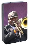 The Trombone Player Portable Battery Charger