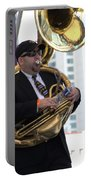 The Tuba Player Portable Battery Charger