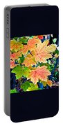 The Turning Leaves Portable Battery Charger