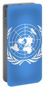 The United Nations Flag  Authentic Version Portable Battery Charger
