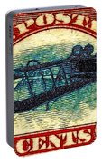 The Upside Down Biplane Stamp - 20130119 Portable Battery Charger