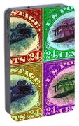 The Upside Down Biplane Stamp Four - 20130119 Portable Battery Charger
