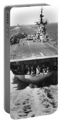 The U.s. Aircraft Carrier Uss Boxer Portable Battery Charger