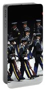 The U.s. Army Drill Team Performs Portable Battery Charger