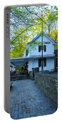 The Valley Green Inn On Forbidden Drive Portable Battery Charger