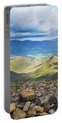 Keswick And Derwent Water From Crag Hill Portable Battery Charger