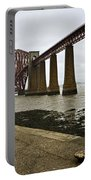 The View Of The Forth Bridge Portable Battery Charger