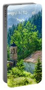 The Village Church - Impressions Of Mountains And Forests Portable Battery Charger