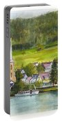 The Village Of Einruhr In Germany Portable Battery Charger