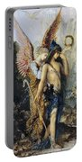 The Voices. Hesiod And The Muse Portable Battery Charger