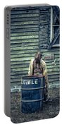 The Walking Dead Portable Battery Charger by Edward Fielding