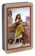 The Water Carrier Poster Portable Battery Charger