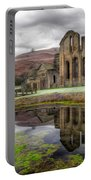 The Welsh Abbey Portable Battery Charger by Adrian Evans