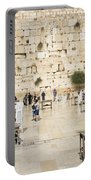 The Western Wall In Jerusalem Israel Portable Battery Charger