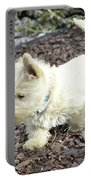 The Wheaten Pup Portable Battery Charger