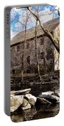 The Wissahickon Creek And Mather Mill Portable Battery Charger