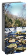 The Wissahickon Creek In February Portable Battery Charger