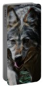 The Wolf Digital Art Portable Battery Charger